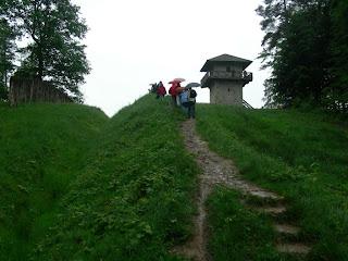 Limesturm auf dem Heidenbuckel bei  Großerlach-Grab