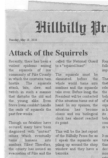 An essay on newspaper