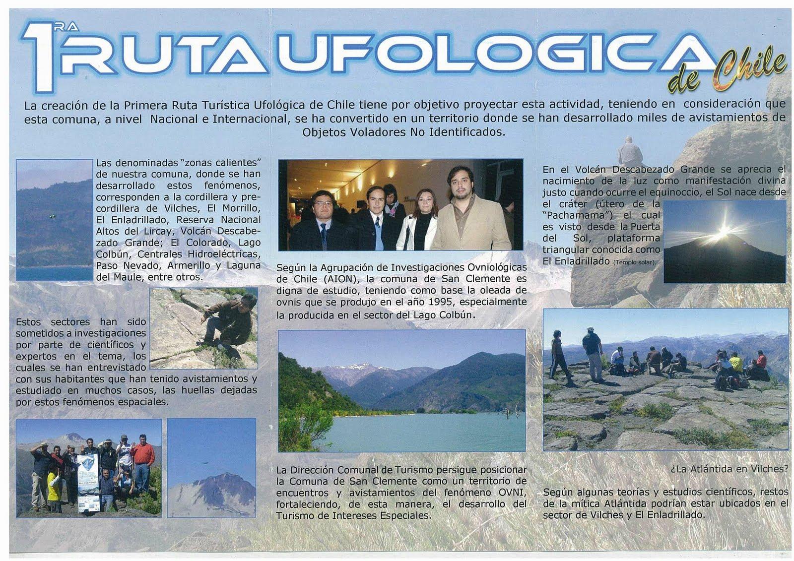 En busca de OVNI's: 1ra Ruta Ufológica en San Clemente, Chile.