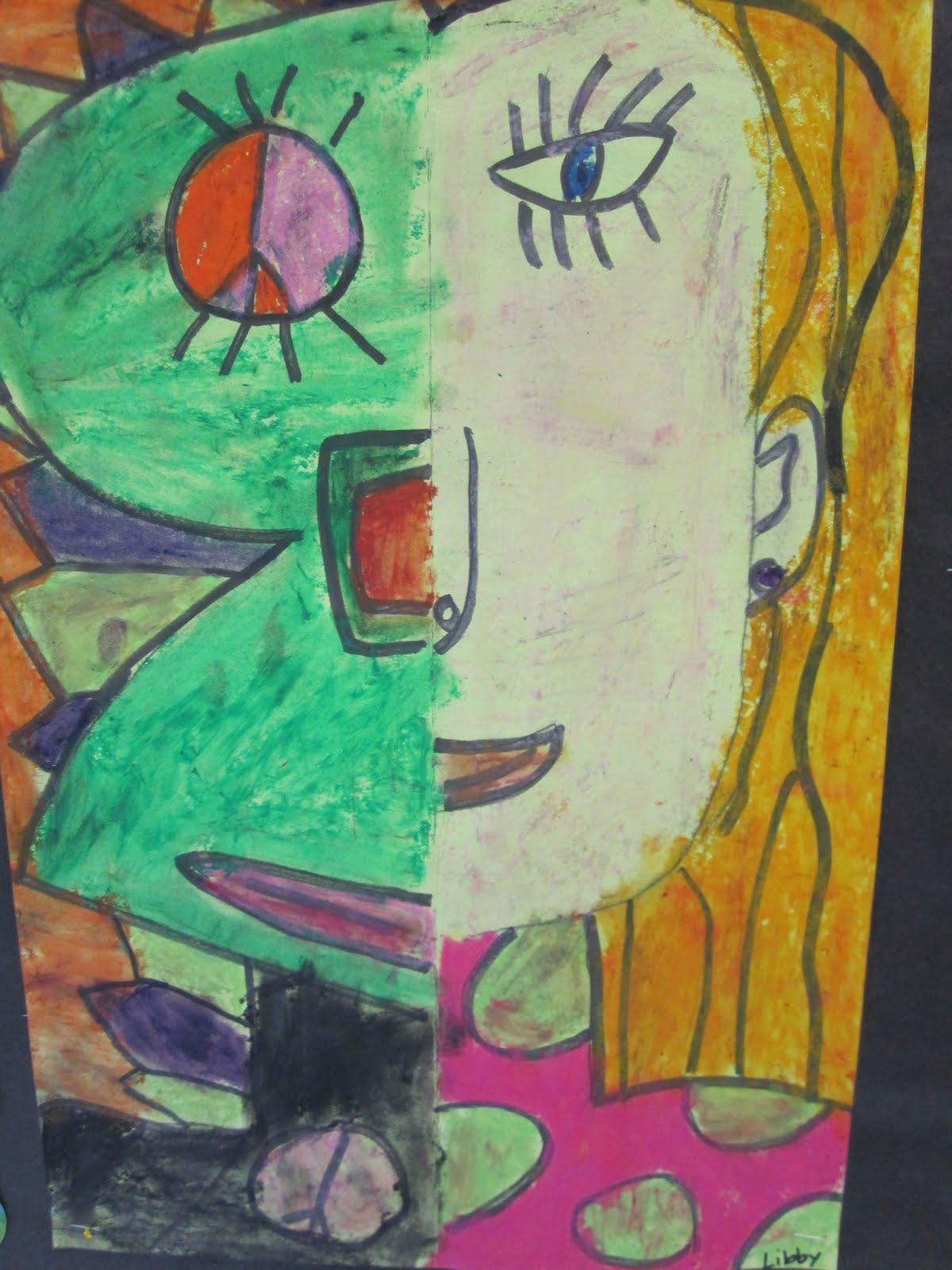 Think Create Art: Picasso Faces- Art Smart Beck Center Camp