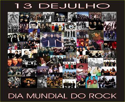 13 de Julho de 2008 dia Mundial do Rock - Faça o máximo de barulho possível, coloque aquele Classicão pra rolar e Long Live Rock'n Roll...
