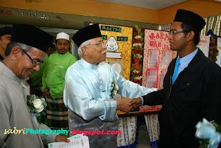 Yang diadakan di madrasah khariah islamiah, pokok sena, kepala batas