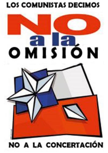 ¡¡NO A LA CONCERTACION (NUEVA DERECHA)!!
