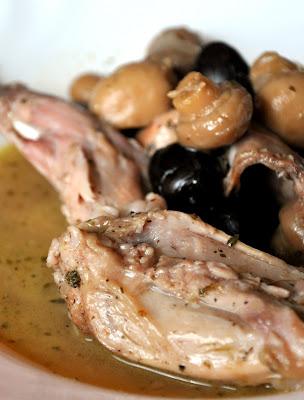 Millésimes Lapin Chasseur Aux Olives