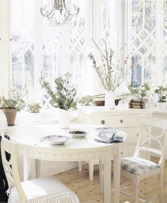 Comedores en Blanco / White Dinning   desde my ventana ...