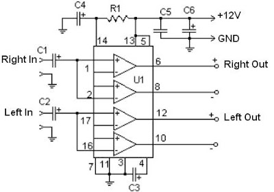 Electronic Fever: 22W Audio Amplifier using TDA1554