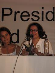 Lectura de poesía, Cartagena 2007