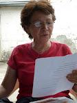 Poeta Nora Carbonell en las Casas de Poesía, 2007