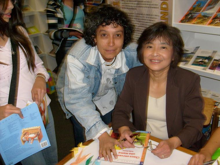 Sandra Luz Páez y Keiko Kasza