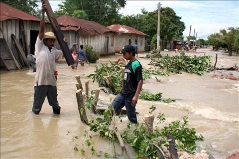 Majagual, inundado