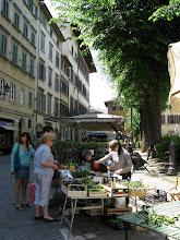 Market in Piazza Santo Spirito