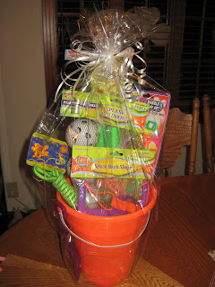 The Seasons of Life: Family Math Night Baskets