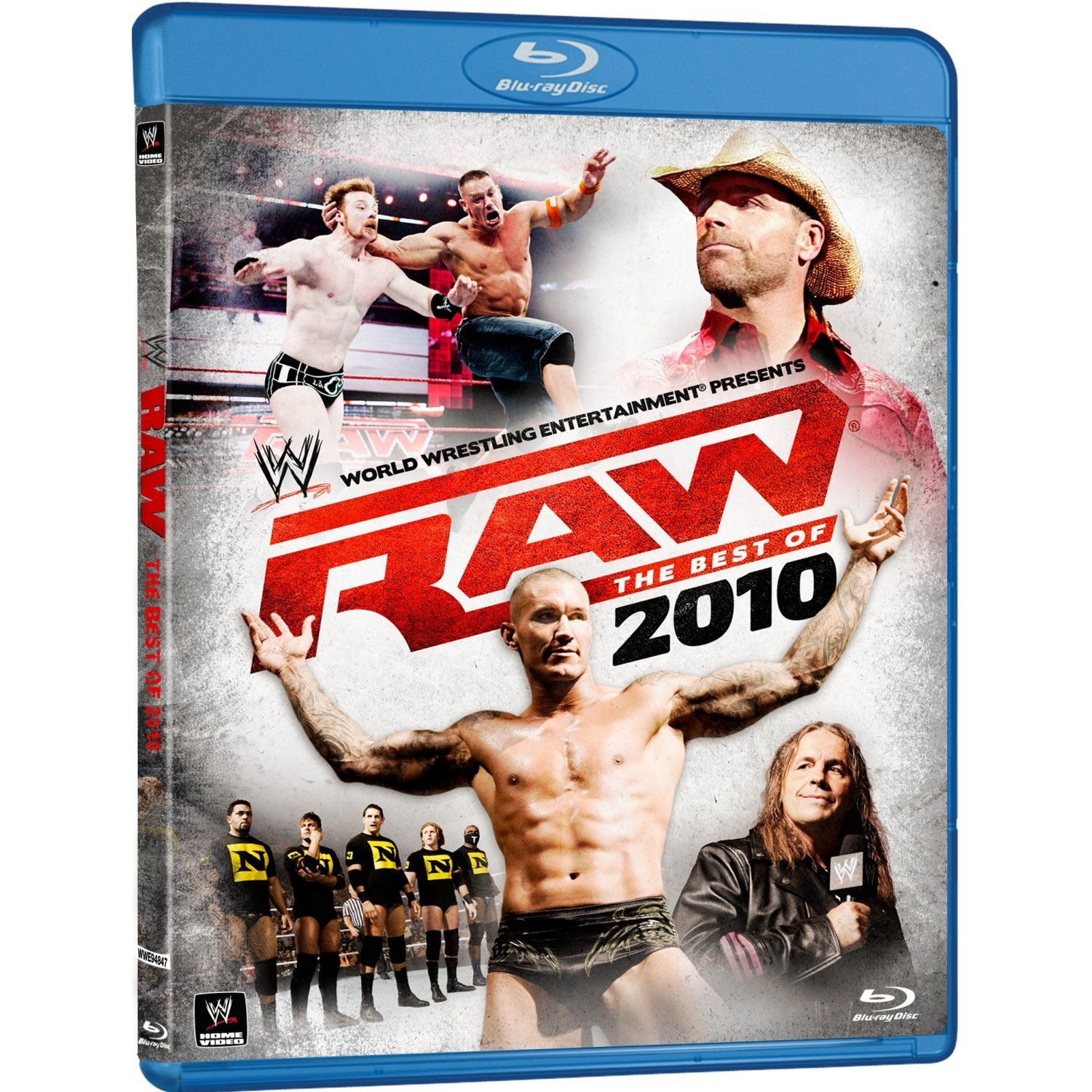 Blu-ray Journal: Complete Disc Content Listing For WWE RAW