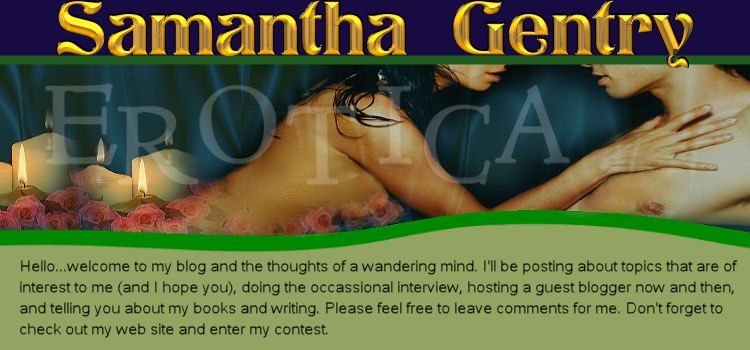 Samantha Gentry's Blog