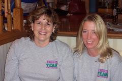 Brenda and Sarah