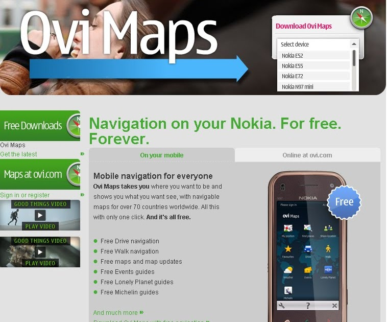 Mapperz - The Mapping News Blog: Big News - Nokia Ovi Maps
