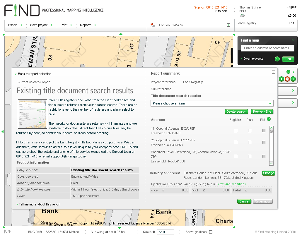land document search