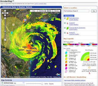 Hurricane Dolly Radar by WunderMap