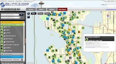 Seattle.gov \'My Neighborhood\' – Bing Maps | Mapsys.info ...