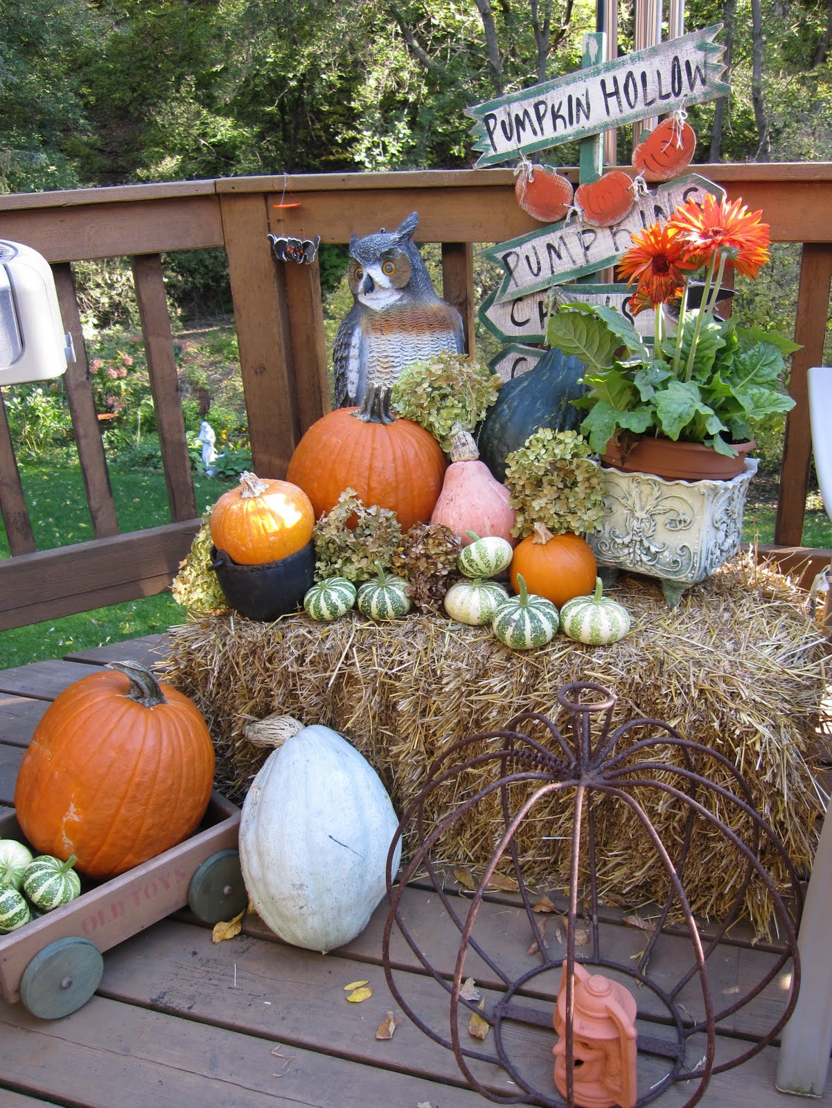 Outdoor Decor For Fall | DECORATING IDEAS