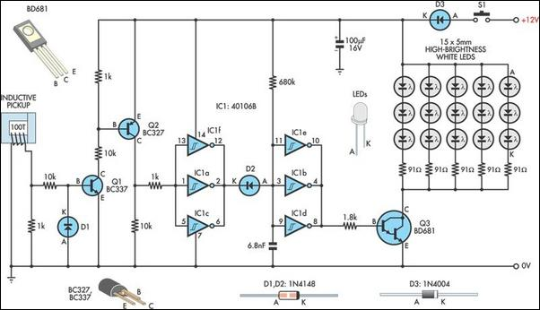 Led Lamp Schematic