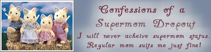 Confessions of a Supermom Dropout