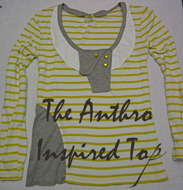 Anthropologie Inspired Top