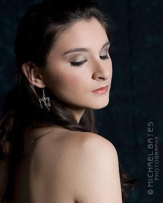 Black Dress Makeup