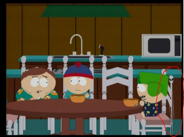 South park episode 1910 - Author of wild movie