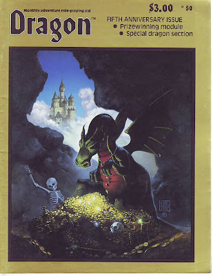 Image result for dragon magazine 50