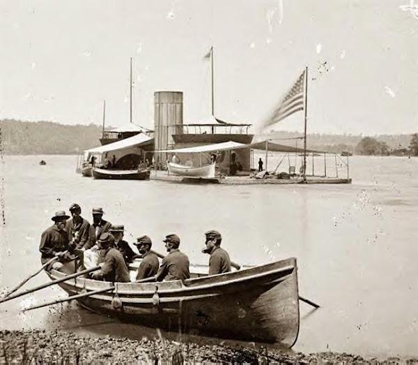 James River, Monitor USS Onondaga 1864