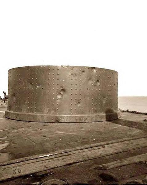 Cannon ball damage 1861