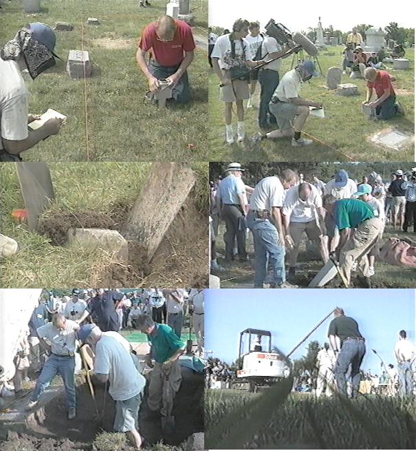 Opening Jesse's Grave, 1995 ~