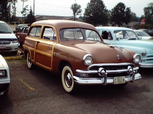 1950 Ford Woody Station Wagon