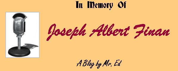 In Memory of Joseph Albert Finan