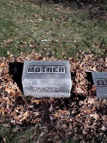 Elizabeth's gravesite ~