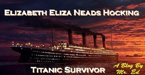 Elizabeth Eliza Neads Hocking