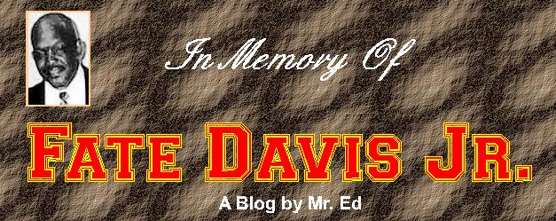 In Memory of Fate Davis Jr.