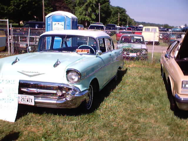 A Classic 1957 Chevy