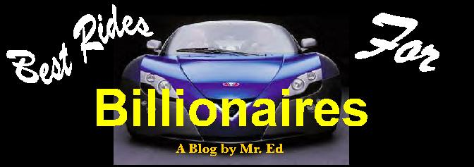 Best Rides for Billionaires
