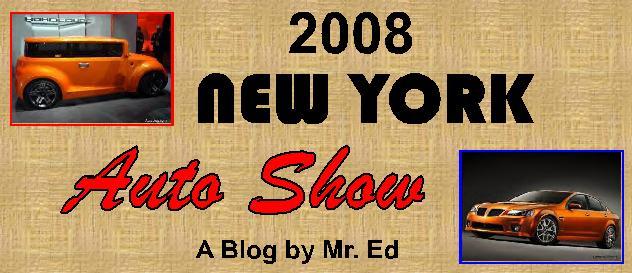 2008 New York Auto Show