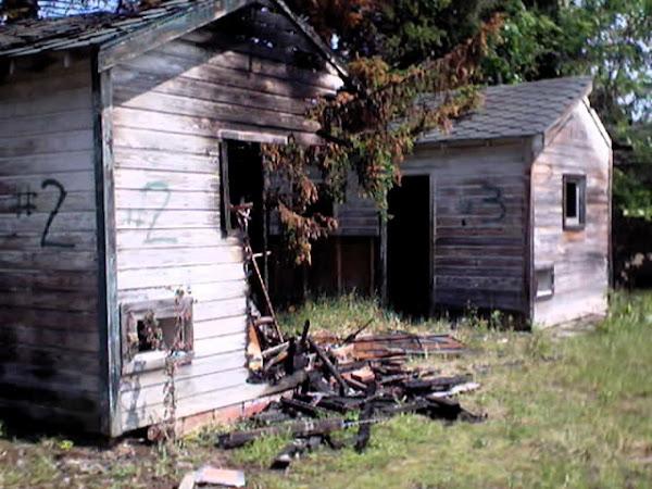 Burned cottage ~