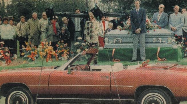 Woman Buried With Her Prized Cadillac