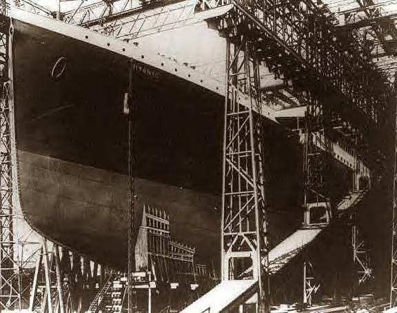 Titanic The Interior Of The Titanic Under