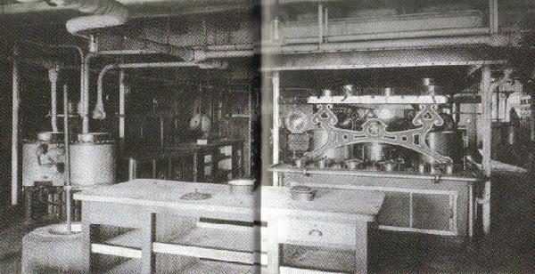 1st Class Main Kitchen