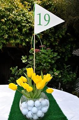 Golf Tournament Decoration Ideas