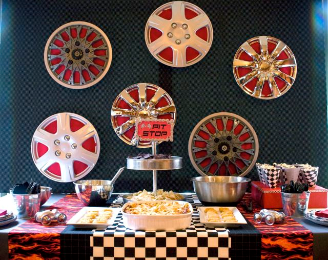 Race Car Birthday Party: Party Frosting: Race Car Party Ideas/inspiration