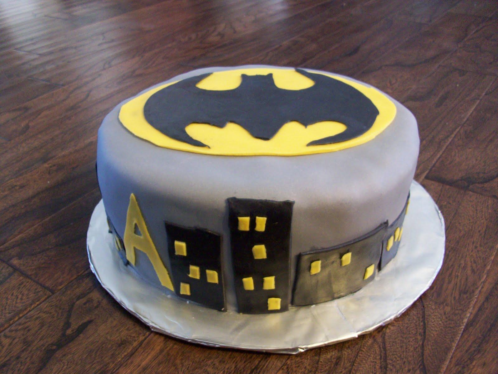 Cakes By Carla Batman Birthday Character Fondant Cake