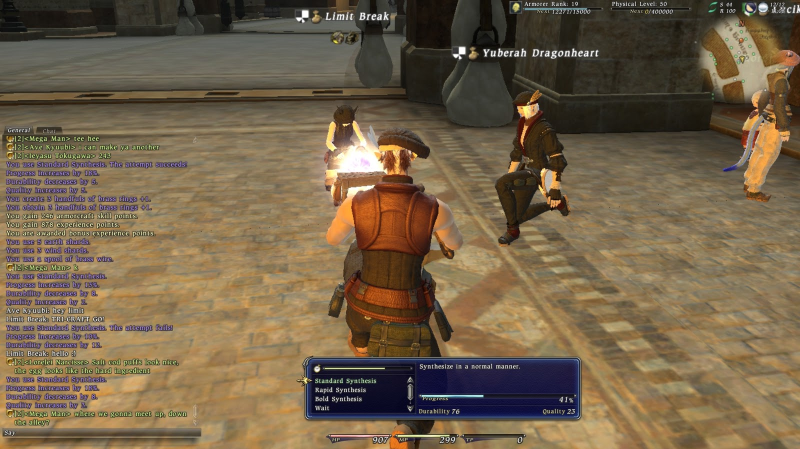 ff14 crafting guide a xiv crafting partys new ls 2011