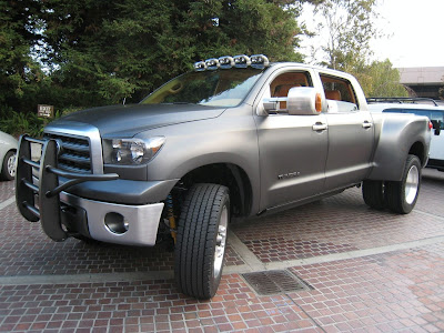 Toyota Tundra Diesel Dually Project Truck at SEMA 2008 ~ Car